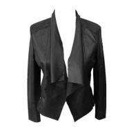 Buy cheap Fake Leather Lady Jacket from wholesalers