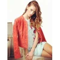Buy cheap Real Leather Lady Jacket from wholesalers