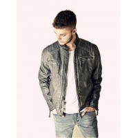 Buy cheap Fake Leather Man Jacket from wholesalers
