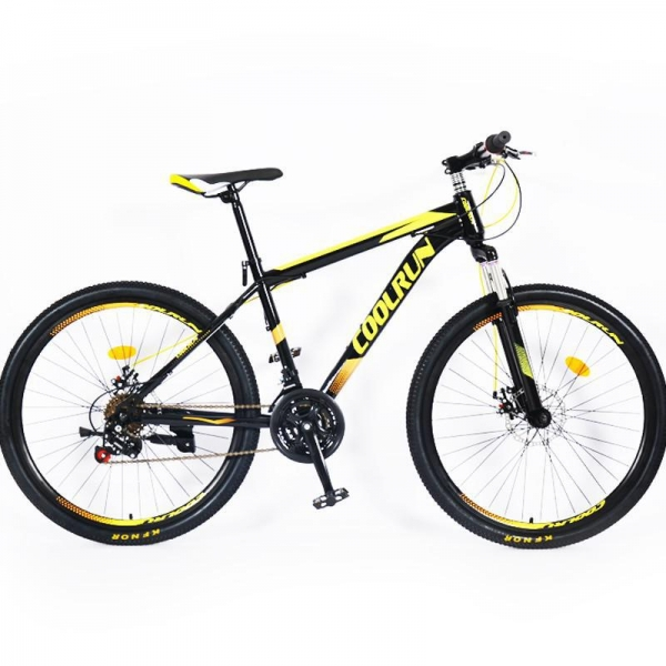 China 27.5 Inch Disc Brakes Aluminum Alloy Frame 24 Speed Customized Color Mountain Bicycle