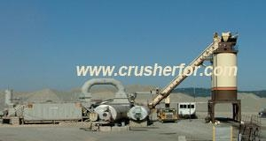 China silica sand washing plant