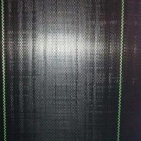 Wholesale 105GSM Black Garden Weed Control Mat Plastic Ground Cover Mesh from china suppliers