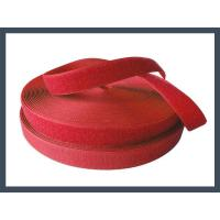 Conventional Hook and Loop manufacture wholesale cheap nylon hook and loop,red