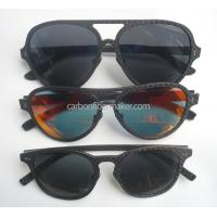OEM Carbon Fiber Sunglasses Frames Wholesale Fashion Fibre Glasses