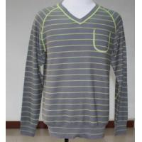 Wholesale Men Knitted V-Neck Long Sleeve Sweater from china suppliers