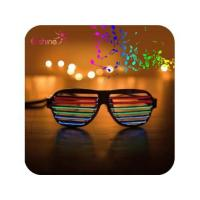 Party Gift Sound Activated Led Sunglasses