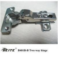 Two way cabinet door hinge half overlay decorative concealed hinge