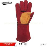 Wholesale Reinforced Palm Leather Welding Glove from china suppliers