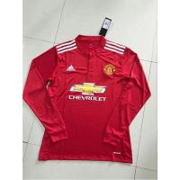 China Premier League Manutd Home Long Sleeve Soccer Jerseys on sale