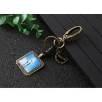 Wholesale Square shape alloy keychain from china suppliers