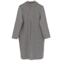 Buy cheap Lady Woolen Knitted Coat Checkered Jacket Antumn Winter-OC004 from wholesalers