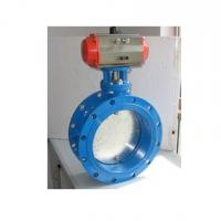 Wholesale Pneumatic straight gas butterfly valve from china suppliers