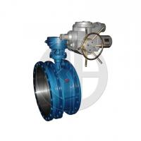 Wholesale Electric telescopic two-eccentric Soft seal butterfly valve from china suppliers