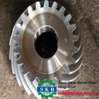 Buy cheap spur steering bevel gear and big bevel gears from wholesalers