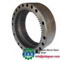 China Customized truck crown wheel and pinion gear bevel gear for toyota on sale