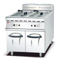 Buy cheap Gas Fryer in 2 Tank and 2 Basket with Cabinet 900 from wholesalers