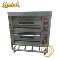 Buy cheap 2 Decks 4 Trays Gas Bakery Oven(YCQ-2-4D) from wholesalers