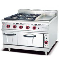 Buy cheap Gas Range with 4 Burner Griddle and Gas Oven 900 from wholesalers