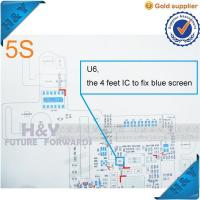Wholesale Free Shipping!U6 the 4 feet IC to fix blue screen for Iphone 5S IC chip case from china suppliers