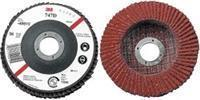Buy cheap Ceramic Aluminum Oxide Blend Type 27 Flap Discs from wholesalers