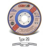 Quality Type 29 (Conical) Depressed Center Grinding Wheels for sale