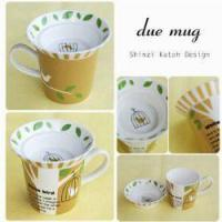 Wholesale Children's & Baby's Gifts Greeting Life - White Bird Duex Mug Set from china suppliers