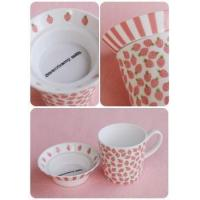 Wholesale Children's & Baby's Gifts Greeting Life - Strawberry Pink Duex Mug Set from china suppliers