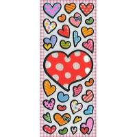Wholesale Children's & Baby's Gifts Heart Puffy Stickers from china suppliers