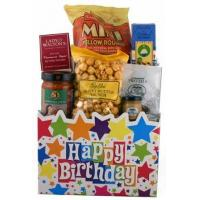 Wholesale Children's & Baby's Gifts Happy Birthday Gourmet Gift Basket from china suppliers