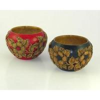 Wholesale Bed & Bath Hand Carved Bowls with Flowering Dogwood Design from china suppliers