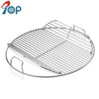 China Weber 7436 Hinged Stainless steel BBQ Cooking Grate for 22.5 grills on sale