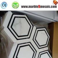 China Composite Marble Mosaic Stone Floor Tile on sale