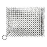 Wholesale Cast Iron Cleaner Chainmail Scrubber 8x8 Stainless Steel 316L for Kitchen Cookware from china suppliers
