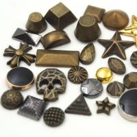China Antique Hotfix Metal Studs on sale