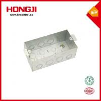 Wholesale Precision Custom Standard 2 Gang Metal Electrical Junction Box from china suppliers