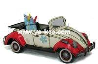 Wholesale craft crafts 1952 WHITE VOLKSWAGEN CONVERTIBLE BUD from china suppliers