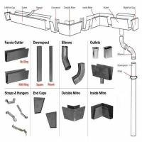 Wholesale Metal Rain Gutter System from china suppliers