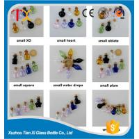 Wholesale Handicraft bottles colorful small wishing glass bottle with cork for decorati from china suppliers