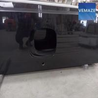 China shanxi black granite countertop, Shanxi black granite worktop on sale