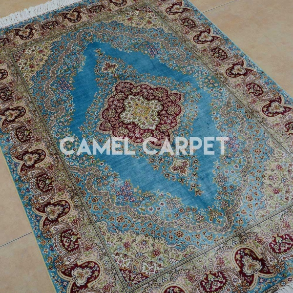 Quality Y0571A Turkish Hereke Silk Rugs for sale