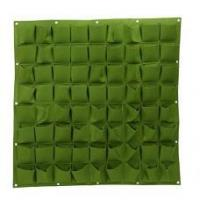 Wholesale Growing 72 Pockets Wall Planter Bags 72 Pockets Wall Planter Bags from china suppliers