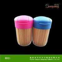 Wholesale Custom Make Eco-friendly Bamboo Toothpick Disposable Kitchenware from china suppliers