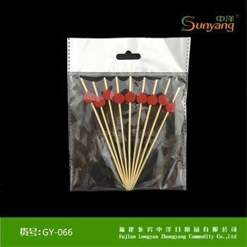 Quality Cheap Disposable BBQ Bamboo Skewer Craft Bamboo Stick for sale