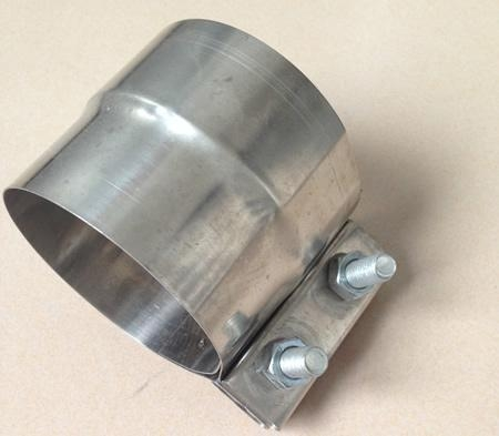 China Exhaust pipe Clamps and Accessories Lap Joint Band Exhaust Clamp