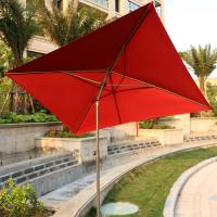 China 7 ft Square Patio Umbrella Outdoor Market Umbrella, with Tilt Adjustment , Perfect for Outdoors, on sale