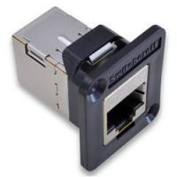 Buy cheap Adapters Panel-Mount RJ45 Modular Couplers from wholesalers