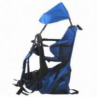 Wholesale Blue Baby Backpack with Lightweight Alloy Frame from china suppliers